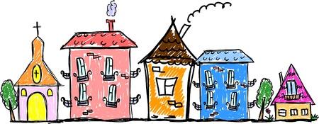 kunst huizen voor uw ontwerp