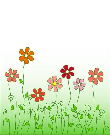 prerequisite: Vector flowers  Illustration