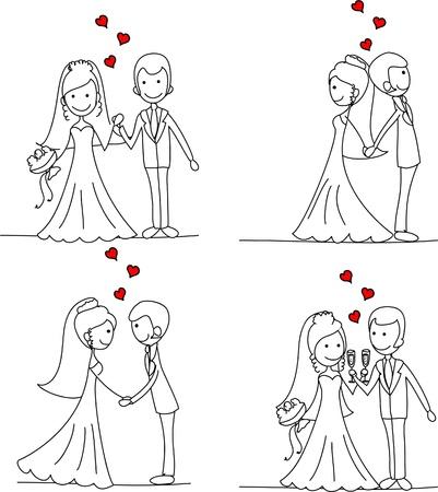 braut und bräutigam: Seth Bilder von Braut und Br�utigam