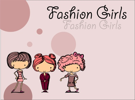 freehand: Fashion kids