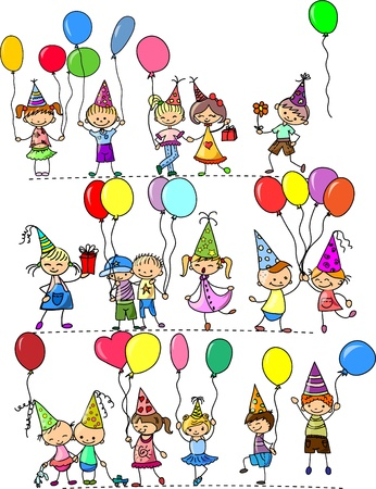 happy birthday girl: funny childrens birthday party