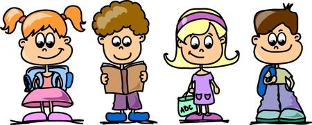 Cartoon kids Stock Vector - 11499136