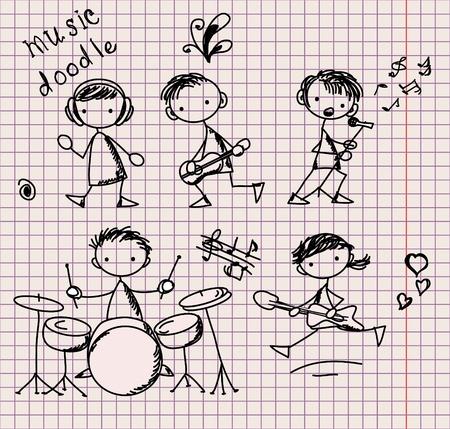 musica electronica: Doodles música