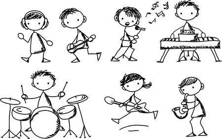 speaker box: Music Doodles