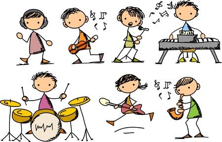 s�ngerin: Musik Doodles