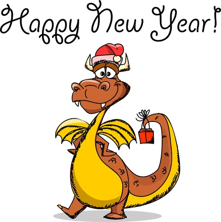 Dragon, Happy New YearDragon Vector