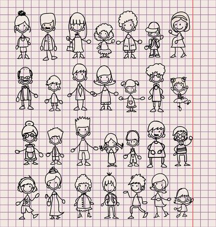 testvérek: Doodle tagjai a nagycsaládosok