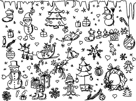 fairly: Christmas doodle