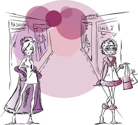 high fashion model: Dibujos de moda las ni�as