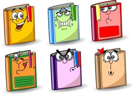 finishing school: Cartoon school books