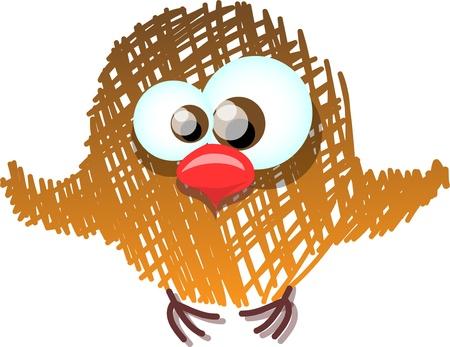 Cute bird Stock Vector - 11499402