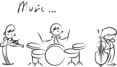 flauta: Doodles M�sica