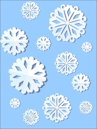 lent: Christmas snowflake  Illustration