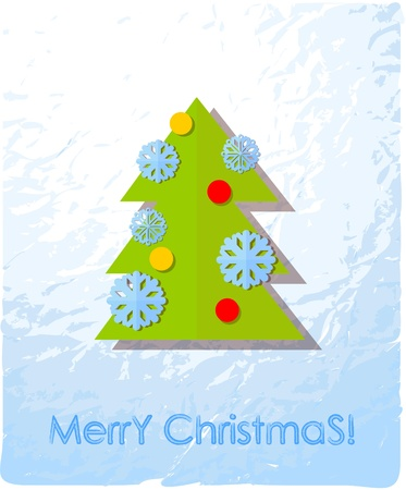 Christmas cards, the background  Vector