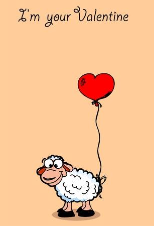 st valentine: La tarjeta de San Valent�n