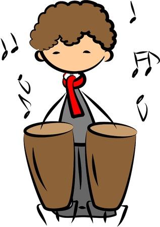 chef d orchestre: Musique vecteur ic�ne