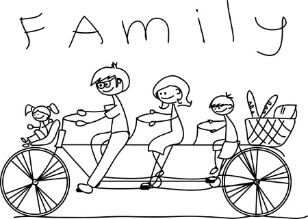 family holiday: child
