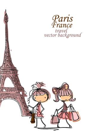 heels: Fashion Cartoon Girl travels the world