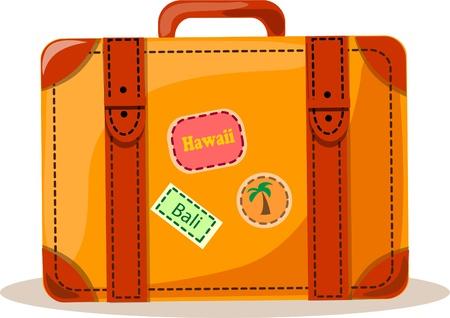 may�sculas: Antecedentes de viaje, maleta
