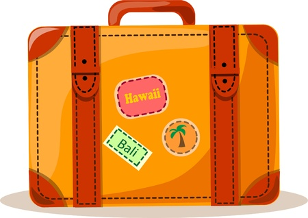 case: Travel background, suitcase