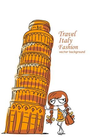 pisa: Reizen achtergrond, de Scheve Toren en