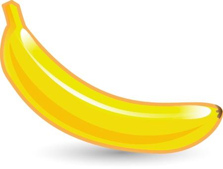 cartoon banana: Cartoon banana