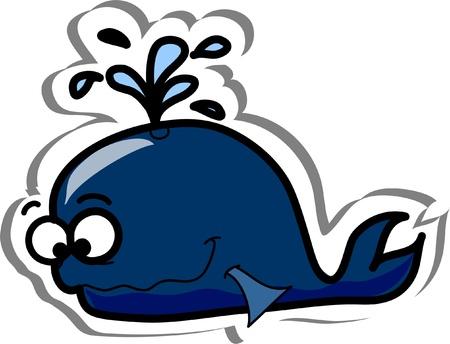 Cartoon fish, sea horse Stock Vector - 13425212