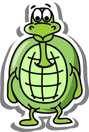 Cartoon turtle Stock Vector - 14749211