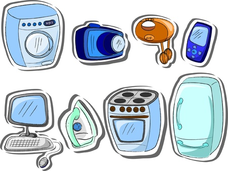 maintained: household appliances  Illustration