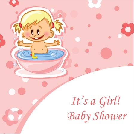 Vector illustration of baby boy  Stock Vector - 16154869