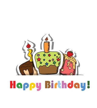 funny birthday: Birthday background for your design
