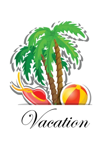 Vacation and travel background Stock Vector - 16814507