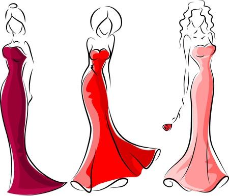 high fashion model: Las mujeres de moda, fondo