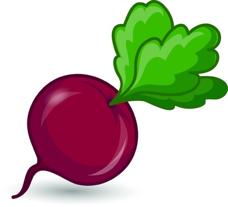 Cartoon beet  Stock Vector - 17242504