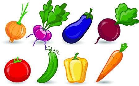 Cartoon vegetable  Stock Vector - 17514727