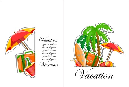 Vacation and travel background Stock Vector - 17514751