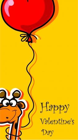 happy valentine s day: Happy Valentine s day, vector card