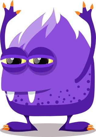 Cartoon cute monsters Stock Vector - 18143969
