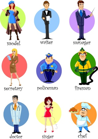 porter: Cartoon characters