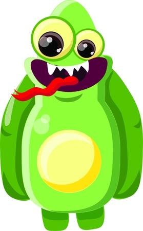 Cartoon cute monster  Stock Vector - 19124135