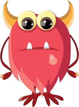 Cartoon cute monsters Stock Vector - 19657474