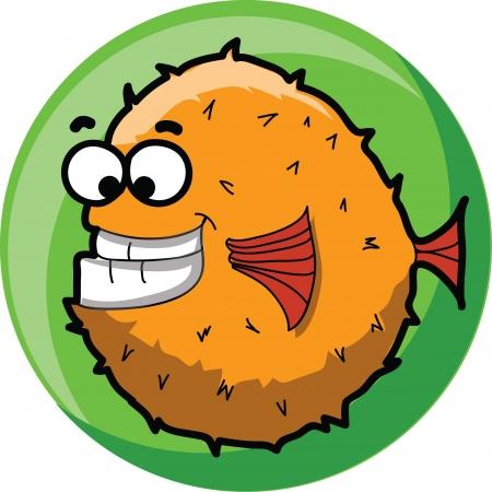 artoon: artoon cute vector fish  Illustration