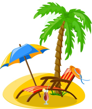 spanking: Travel vacation vector background