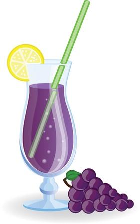 grape juice: Grape cocktail picture