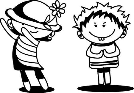bebe a bordo: Los ni?os lindos de la historieta