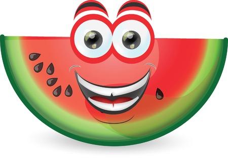 Cartoon watermelon Фото со стока - 22816287