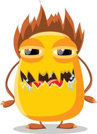 Cartoon cute monsters Stock Vector - 22951983