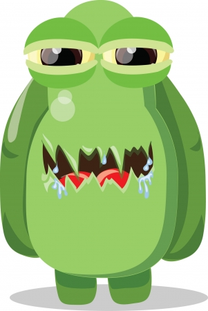 Cartoon cute monsters  Stock Vector - 22951986