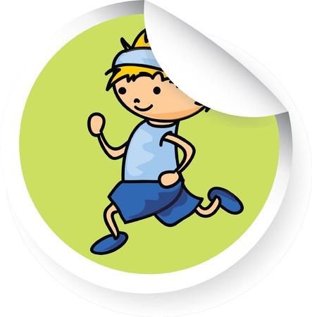 cartoon sport: Cartoon sport icon