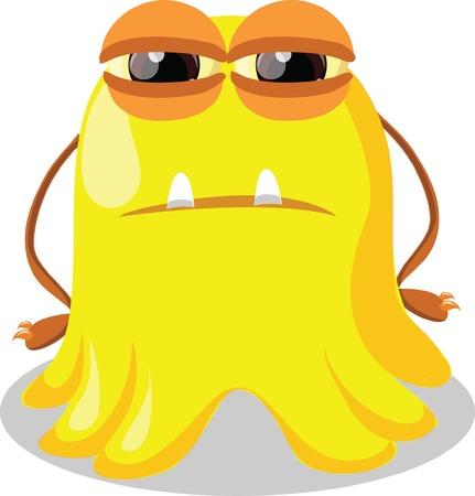 toy story: Cartoon cute monster  Illustration